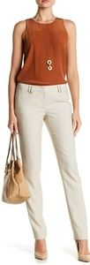 AMANDA + CHELSEA CAREER DOUBLE LOOP NARROW PANTS